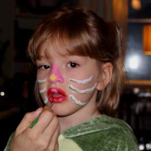 Ellie facepaint